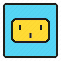 device, electronic, energy, outlet, power icon
