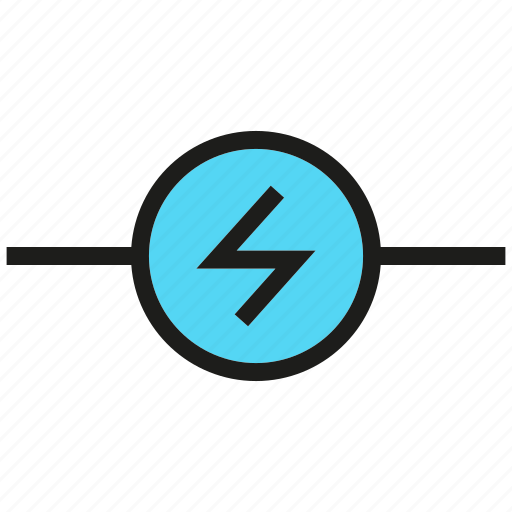 currency, electricity, electronic, energy icon