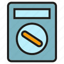 measure, multimeter, scale, tool, voltmeter icon