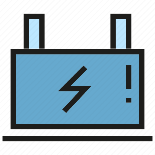 battery, currency, electricity, energy, power icon