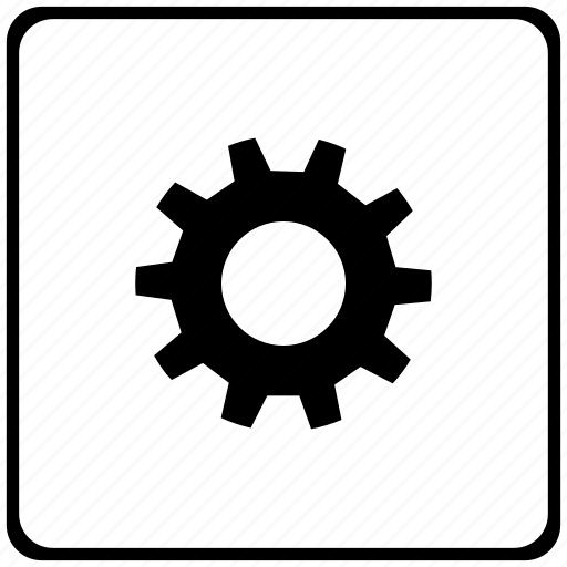 configuration, gear, options, settings icon