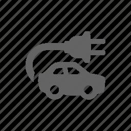 auto, car, charge, electric, lightning, plug, vehicle icon