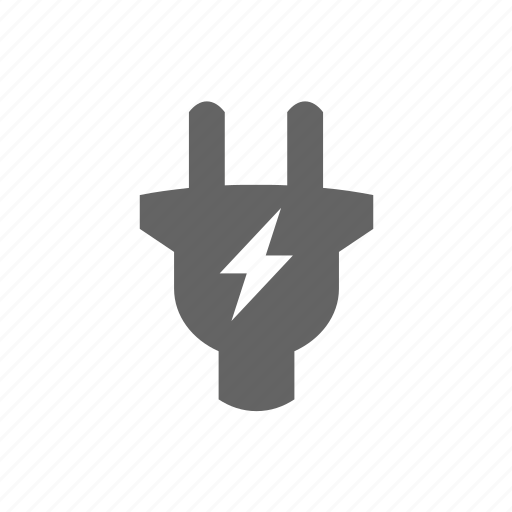 charge, electric, electricity, energy, lightning, plug, power icon