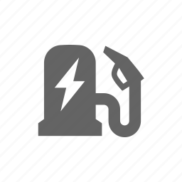 auto, car, charge, electric, lightning, station, vehicle icon
