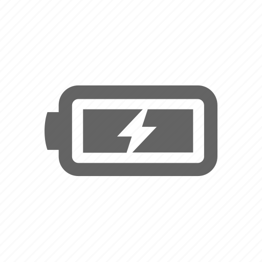 battery, bolt, charge, charging, full, lighthing, power icon