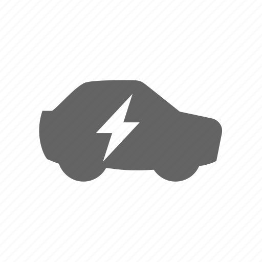 auto, car, charge, electric, lightning, vehicle icon