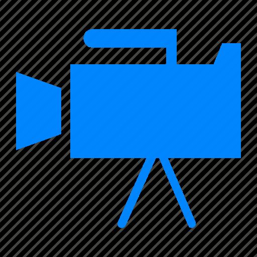 bioskop, broadcast, camera, cameramen, film, record, tv icon