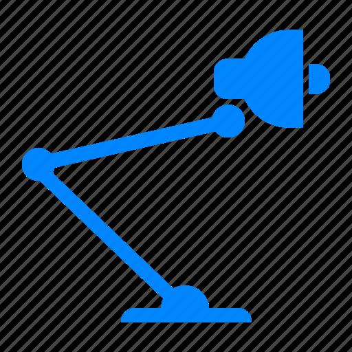 lamp, lampu belajar, minimalis lamp, study lamp, vintage lamp icon