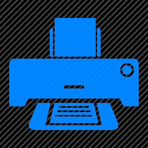 cetak, computer accessories, electronic, print, printer icon