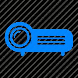 electronic, presentation, projector, proyektor icon