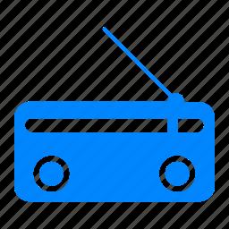 channel, classic, electronic, fm, media, music, radio icon