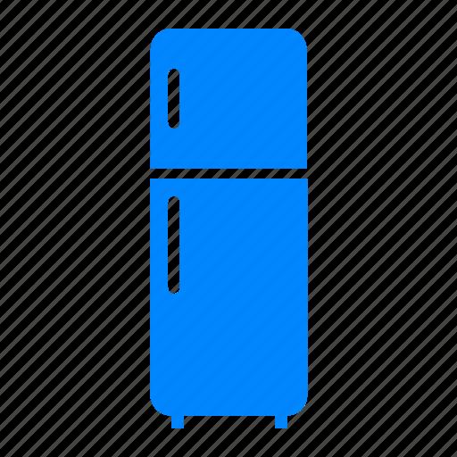 cold, electronic, freezer, kulkas, refrigerator icon