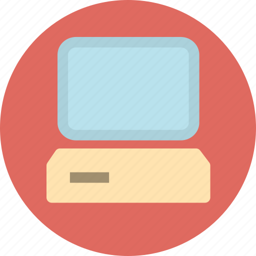 computer, desktop computer, pc, personal computer icon