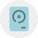data, hard disk, storage icon