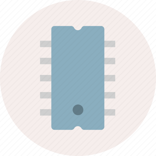 chip, electronic, electronics, ic, technology icon