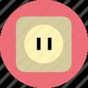 electronic, power, strip icon