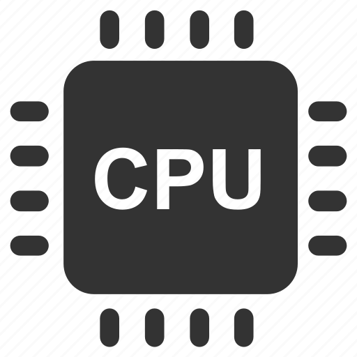 chip, computer, computer hardware, cpu, electronic, hardware, processor icon