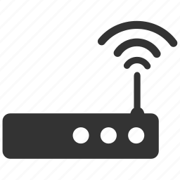 connection, internet, network, router, signal, wifi icon