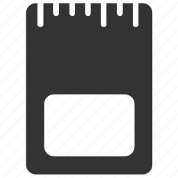 camera memories, hardware, memory, micro sd card, sd card, storage icon