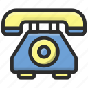 contact, phone, receiver, telephone icon