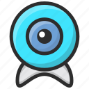 cam, camera, web cam, web camera icon