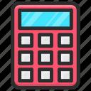 calculator, camera, digital, technology