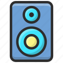 different volume levels, loudspeaker, speaker, volume