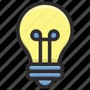 bulb, efficient, idea, light, shine