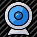 camera, hidden camera, internet camera, security camera, webcam icon