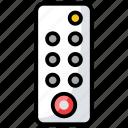 air conditioner remote, remote, remote control, tv remote, wireless controller icon