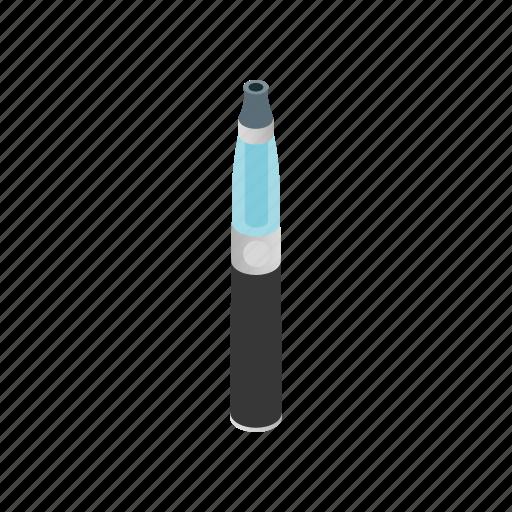 cigarette, electric, isometric, nicotine, plug, smoke, tobacco icon