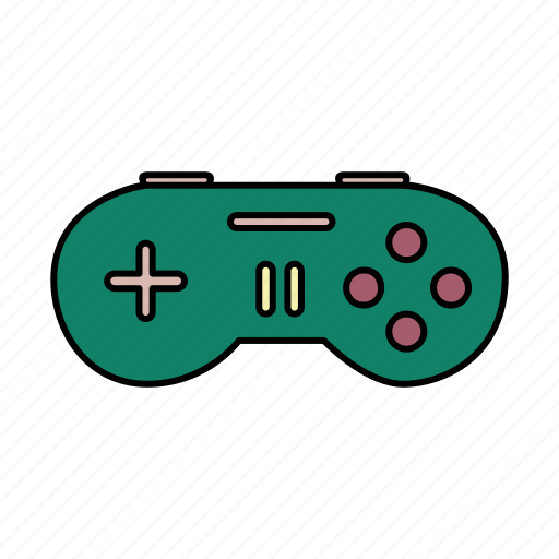 controller, electronic, gadget, game, joystick icon