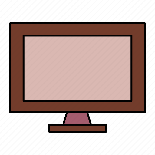device, lcd, plasma, television, tv icon