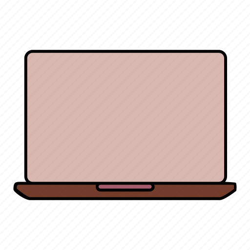 electronics, laptop, notebook, technology icon