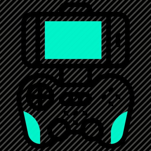 controller, gamepad, handheld, videogame icon