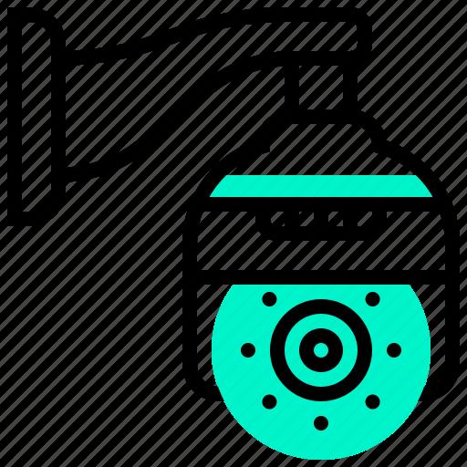 camera, security, surveillance, system, video icon
