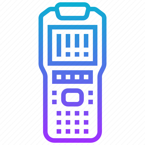 barcode, device, electronic, scanner, sensor icon