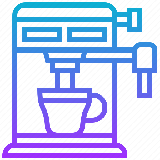 appliance, coffee, electric, machine, maker icon