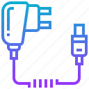 battery, charger, device, electric, phone icon