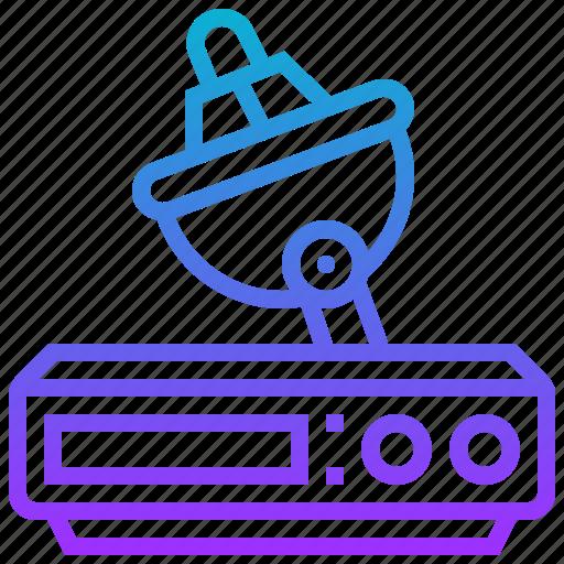 broadcast, delivery, satellite, signal, tv icon