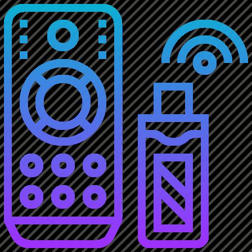 controller, device, remote, stick, television icon