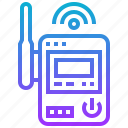 device, internet, network, router, wireless icon
