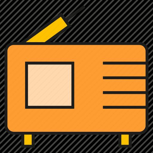 device, electronic, gadget, radio icon