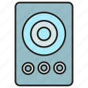 device, electronic, gadget, loudspeaker icon