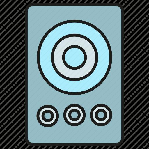 device, electronic, gadget, loudspeaker icon