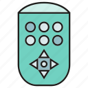 device, electronic, gadget, remote icon