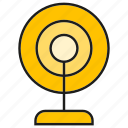 camera, device, electronic, gadget, record, webcam icon