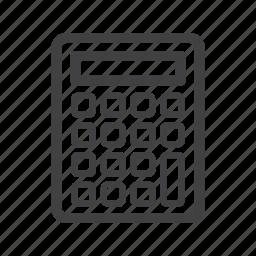 calc, calculator icon