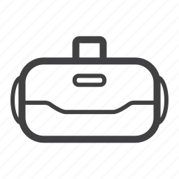 glasses, goggles, headset, virtual reality, vr icon