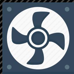 blower, cooler, electric, exhaust, fan, hardware, ventilator icon
